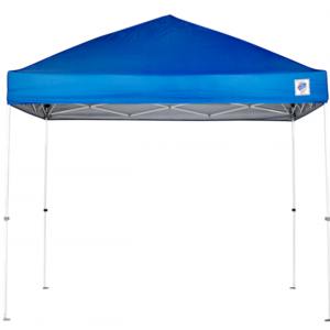 EZ UP Envoy 10x10 Royal Blue Canopy with White Frame